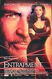 Catherine Zeta Jones and Sean Connery in Entrapment